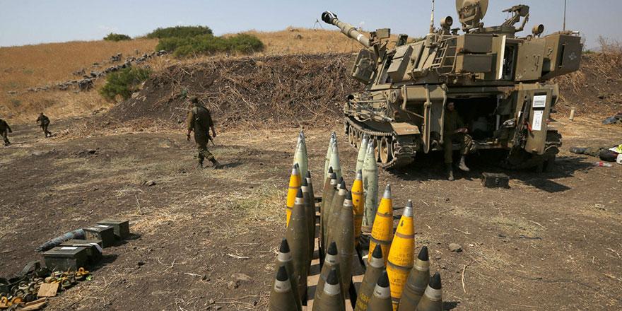 İsrail askeri üssünden mühimmat çalındı