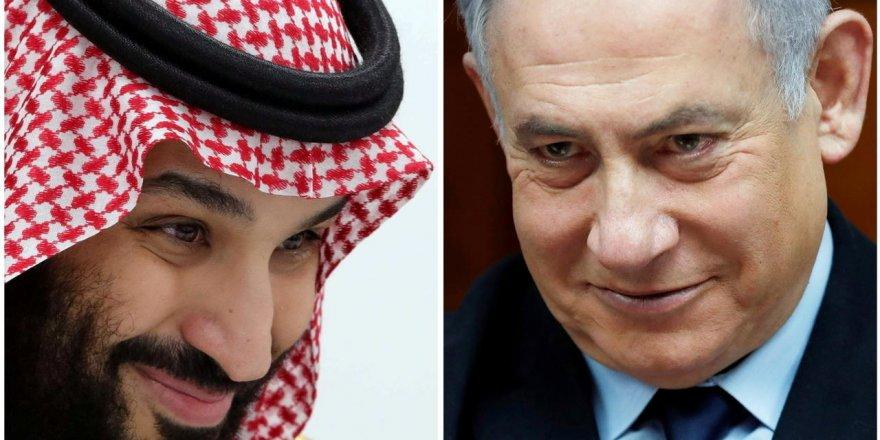 İsrail basını Netanyahu'nun gizlice Selman ve Pompeo ile görüştüğünü iddia etti
