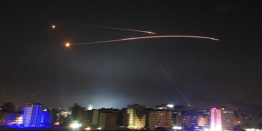 İsrail, Şam'daki askeri noktaları hedef aldı