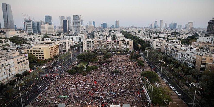 İsrail'de, ilhak protestosu: 1948'den beri nefes alamıyoruz