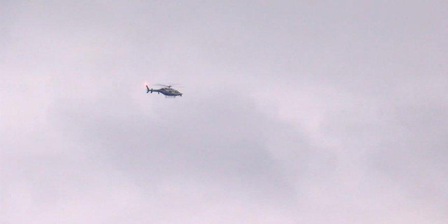 İstanbul Beykoz'da helikopter düştü iddiası!