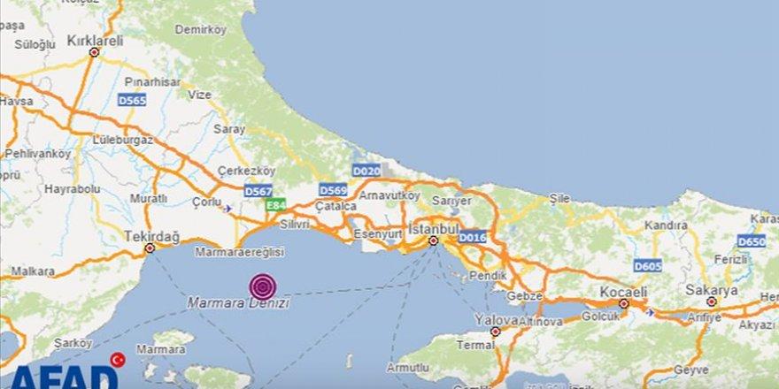 İstanbul'da deprem yaşandı