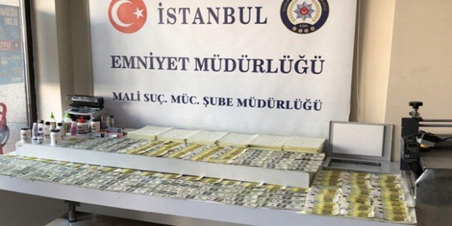 İstanbul'da sahte döviz operasyonu