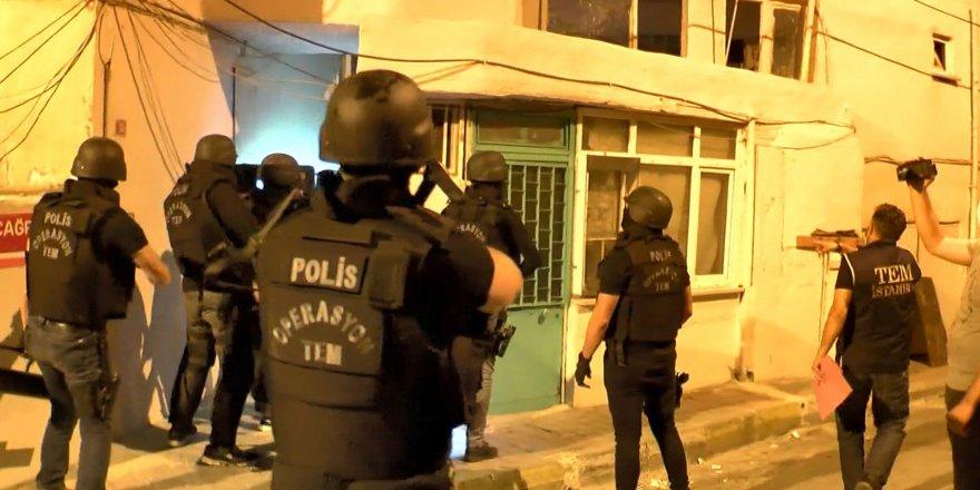 İstanbul'un 15 ilçesinde HDP ve HDK üyelerine yönelikoperasyondüzenlendi