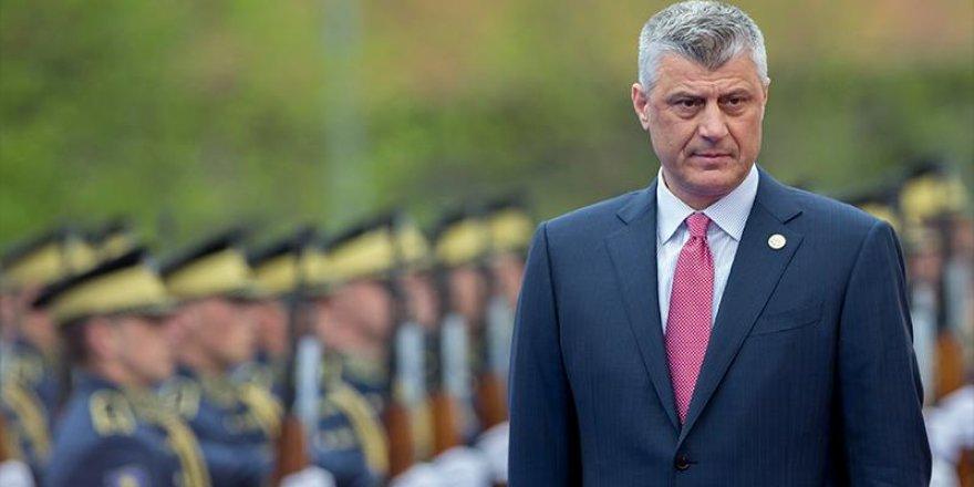 İstifa eden Kosova Cumhurbaşkanı, Lahey'de gözaltına alındı