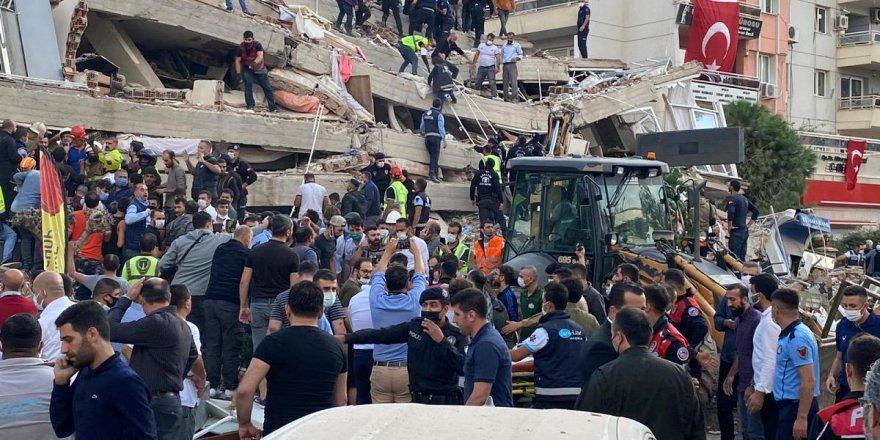 İzmir'de arama kurtarma çalışmaları sona ererken, yeni görüntüler ortaya çıktı