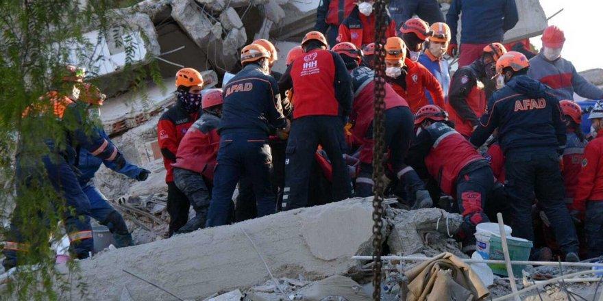 İzmir'de arama kurtarma çalışmaları sonlandırılıyor