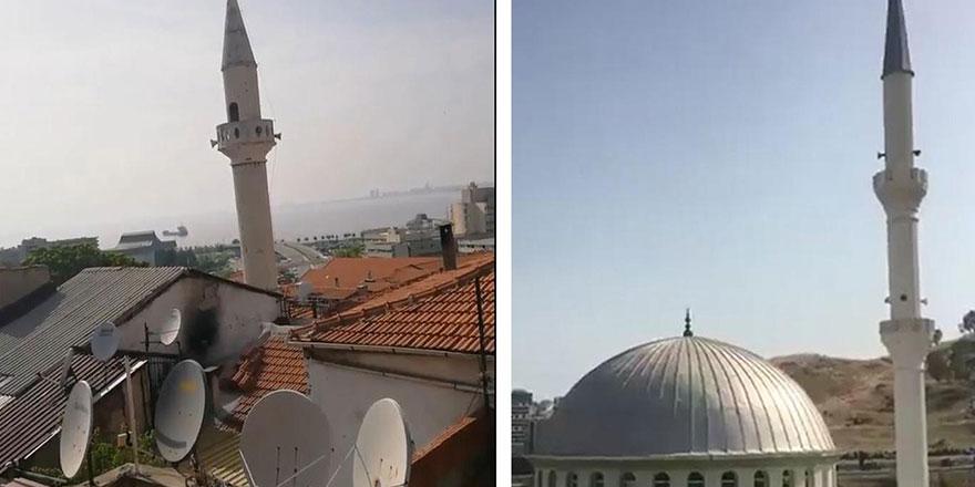 İzmir'de camilerden 'Çav Bella' marşı çalındı