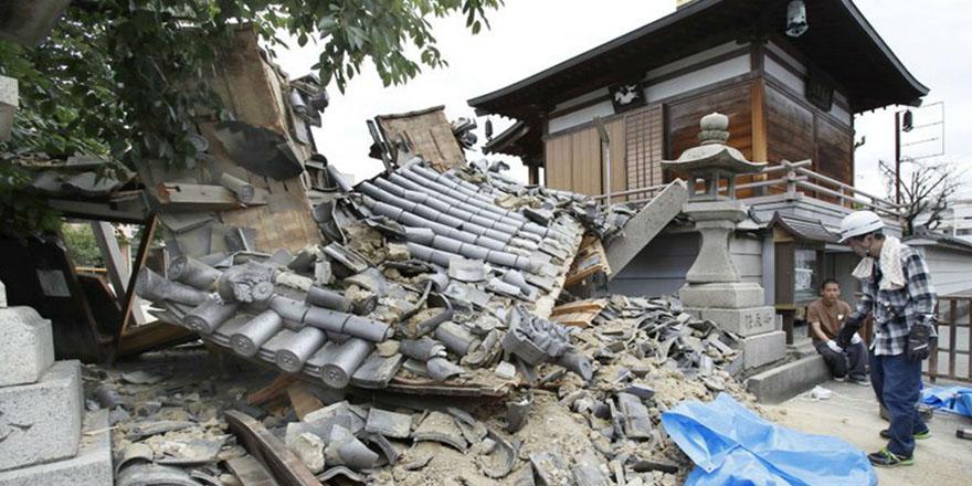 Japonya'da 7 şiddetinde deprem meydana geldi