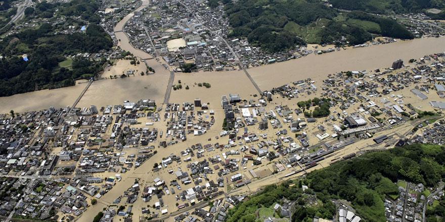 Japonya'da ölü sayısı 62'ye ulaştı