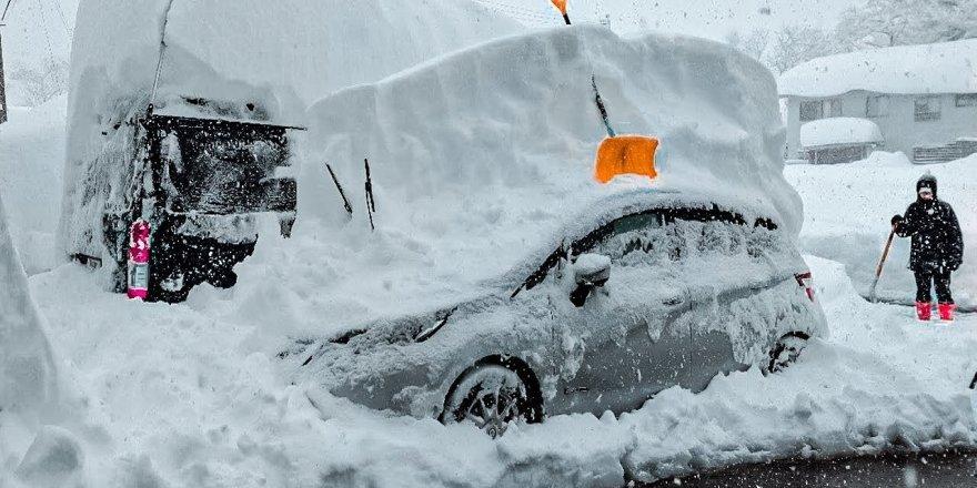 Japonya'da yoğun kar yağışı: Ölü sayısı 29