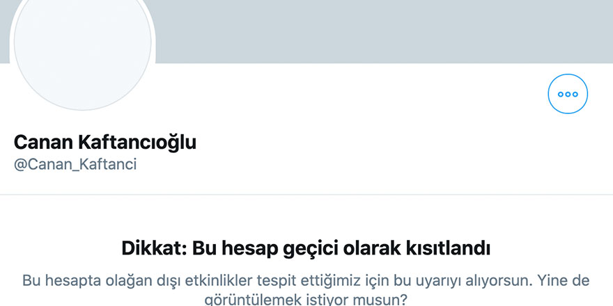 Kaftancıoğlu'nun twitter hesabına 18 bin hesaptan spam saldırısı yapıldı