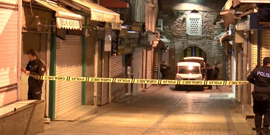 Kapalı Çarşı'da soygun girişimi