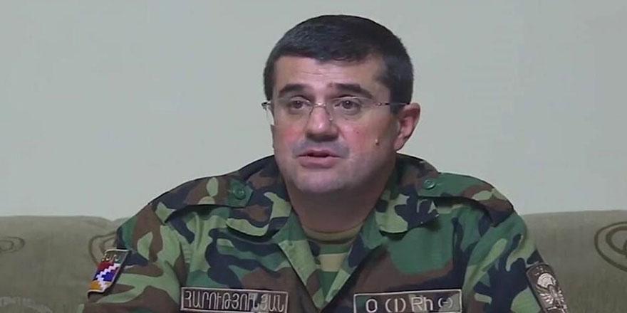 Karabağ'ın sözde Ermeni lideri: Cepheye gidiyorum!