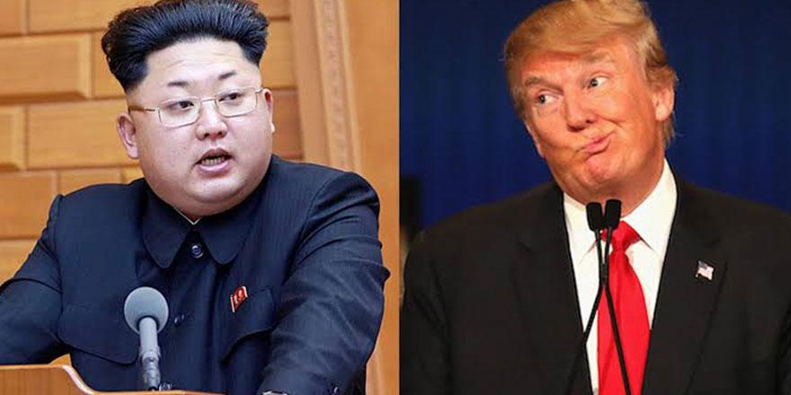 Kendisine 'roket adam' adam diyen Trump'a 'bunak' misillemesi