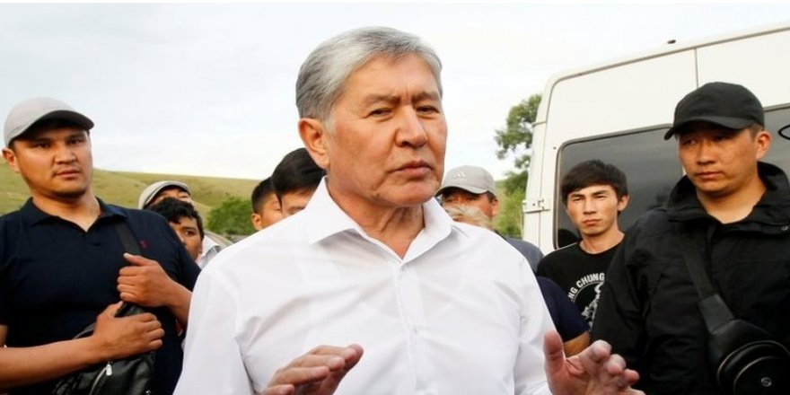 Kırgızistan'ın eski Cumhurbaşkanı gözaltına alındı