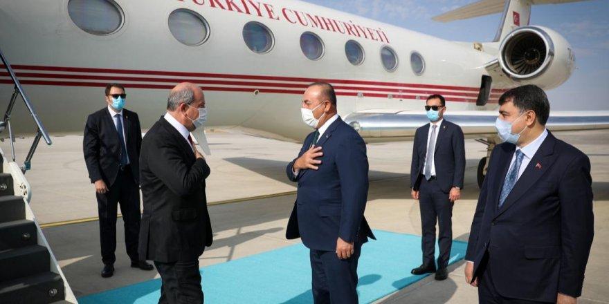 KKTC'nin yeni Cumhurbaşkanı Ersin Tatar Ankara'da