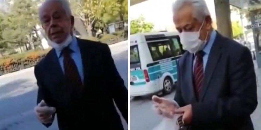 Konya'da İslami kıyafete çirkin saldırı