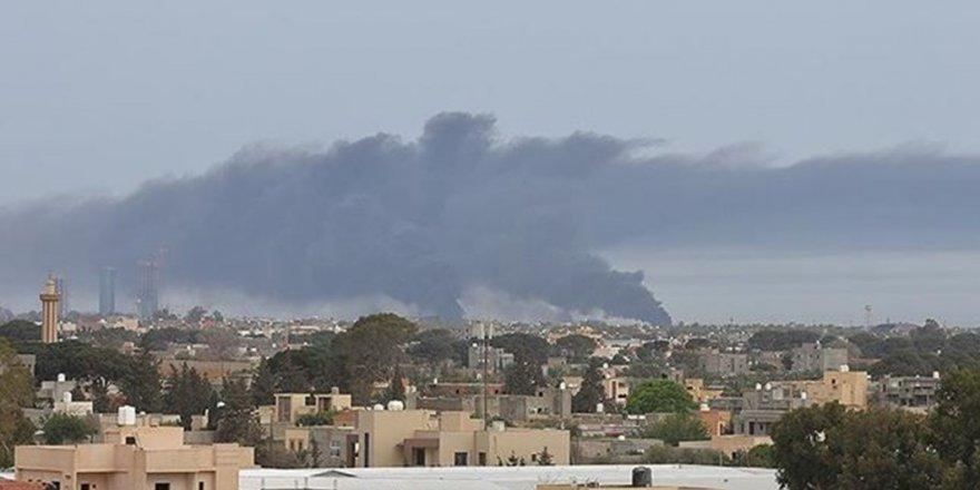 Libya ordusu: Hafter milislerimilletvekillerinin geçeceği Sirte yolunu açmıyor!