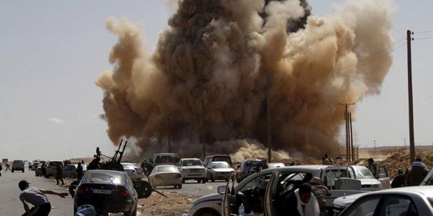 Libya ordusu, Hafter milislerini vurdu