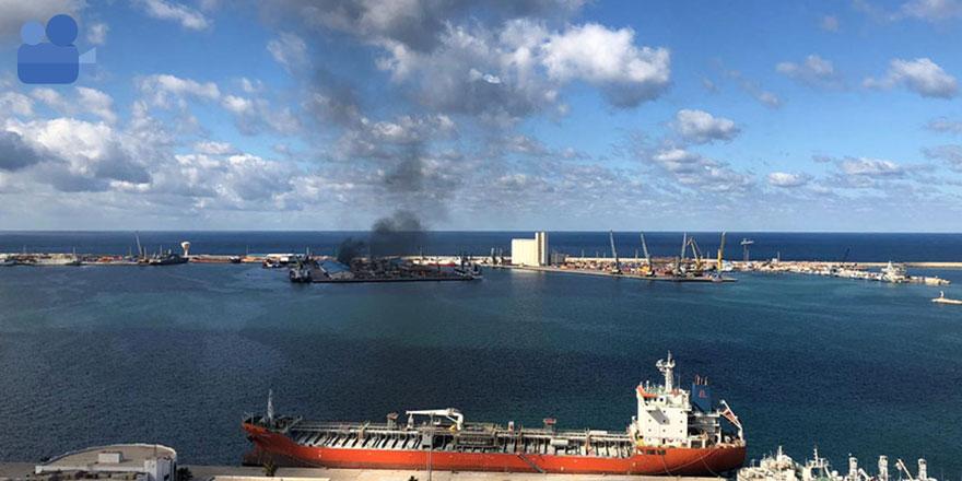 Libya Ulusal Ordusu, Türkiye'ye ait gemiyi vurduğunu iddia etti