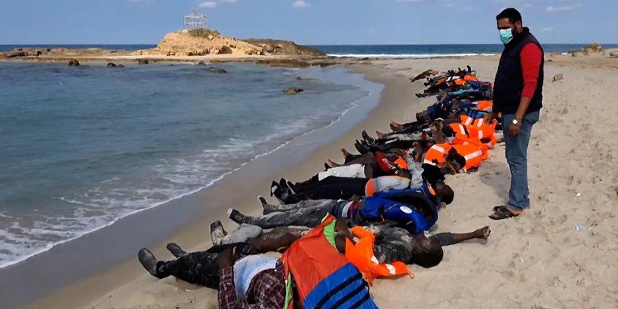 Libya'da batan göçmen teknesinde bilanço ağırlaşıyor!