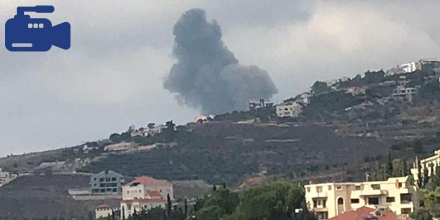 Lübnan'ın güneyinde şiddetli patlama yaşandı