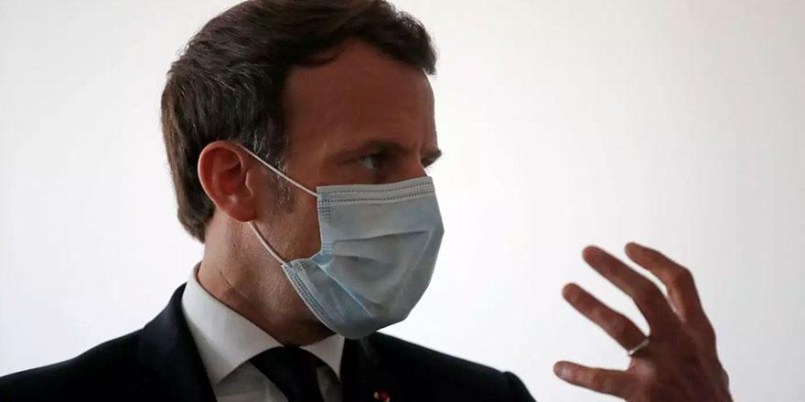 """Macron: """"11 Mayıs'ta normal yaşama dönüş olmayacak"""""""