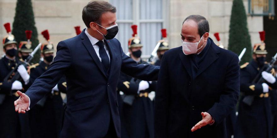 Macron: İnsan hakları önemli değil, Mısır'a silah satacağız
