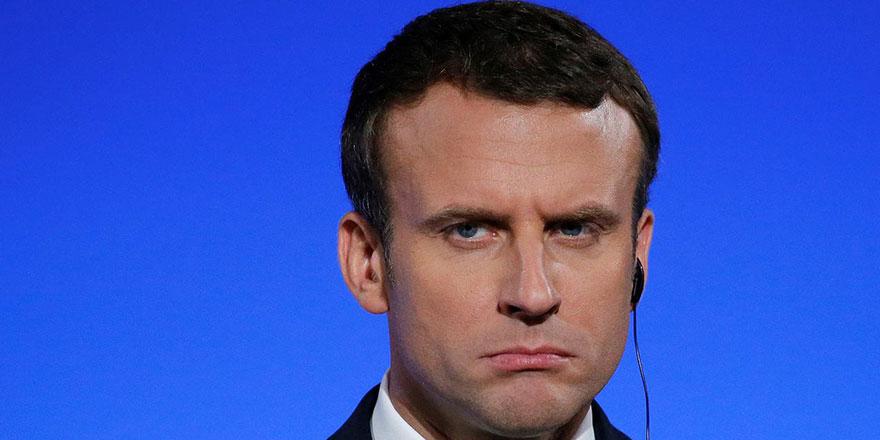 Macron Karabağ çatışmaları ile ilgili konuştu: Türkiye kırmızı çizgiyi aştı