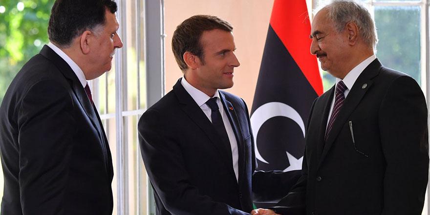 Macron'dan Hafter'e davet