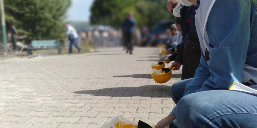 Maden işçileri Ankara'ya yürümekte kararlı ''TKİ görüşmesinden sonuç çıkmadı''