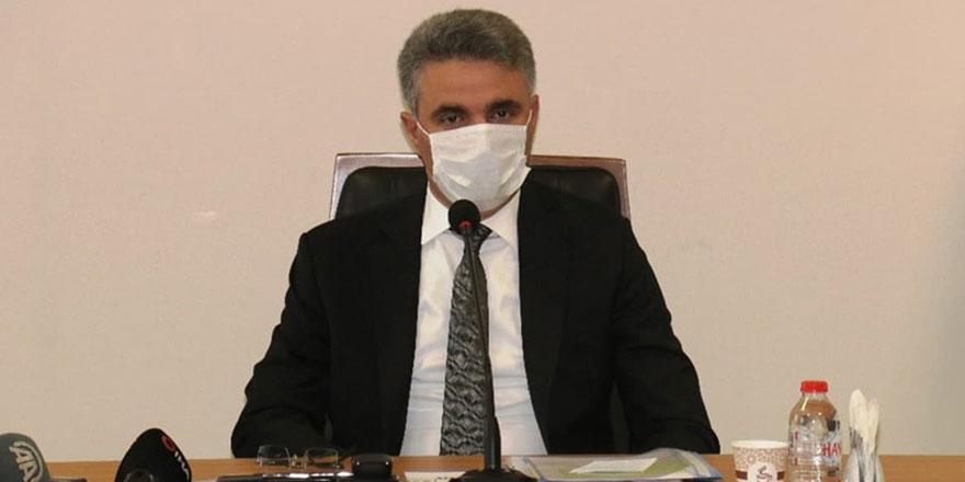 Malatya Valisi Baruş, kentteki aktif vaka sayısını açıkladı