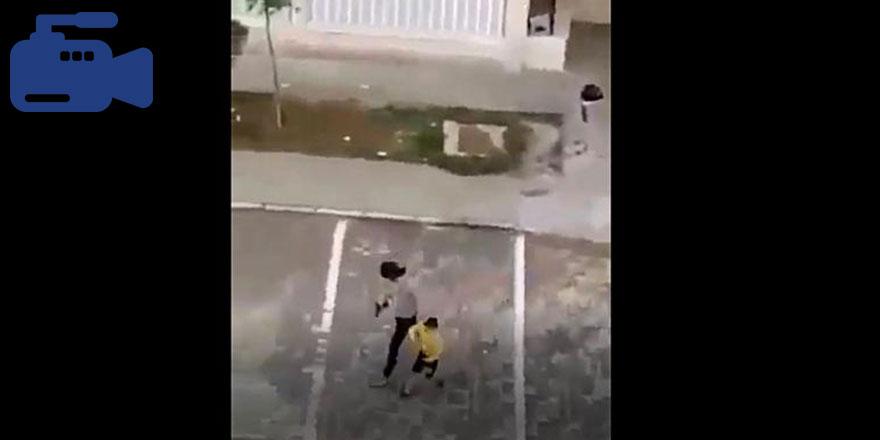 Mardin'de polis havaya ateş açarak çocukları kovaladı!