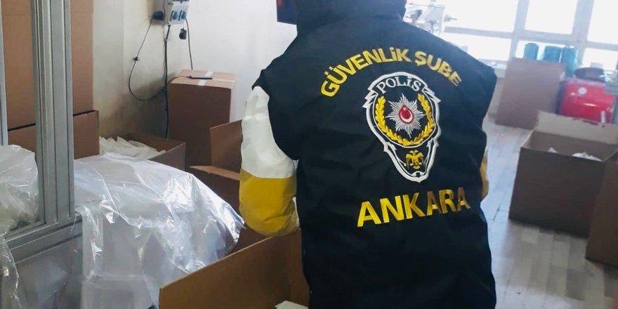 Maske operasyonu: 30 bin kaçak maske ele geçirildi