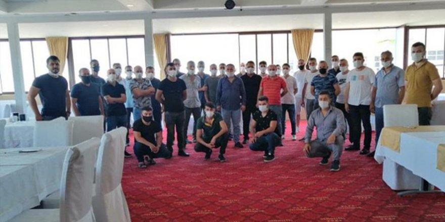 Maske takmadıkları ileri sürülen60 kişi işten kovuldu