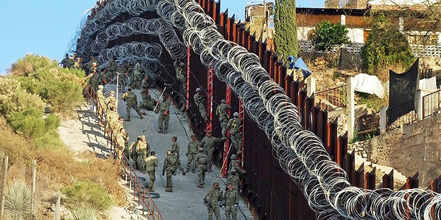 Meksika - ABD sınırında işler tersine döndü