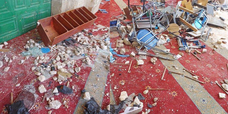 Mescid-i Aksa'ya işgalci İsrail saldırısı: 200'ü aşkın yaralı