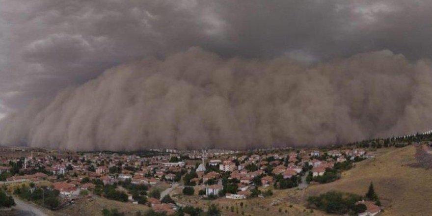 Meteoroloji'den 7 ile kum fırtınası uyarısı