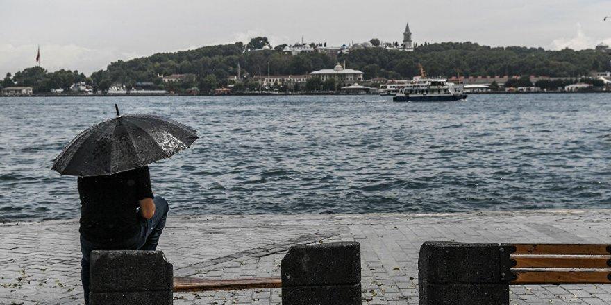 Meteoroloji'den İstanbul ve çevresi için sağanak yağış uyarısı