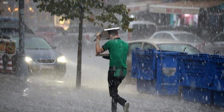 Meteorolojiden Marmara'da yağış uyarısı