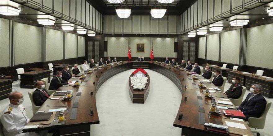 Milli Güvenlik Kurulu Külliye'de toplandı
