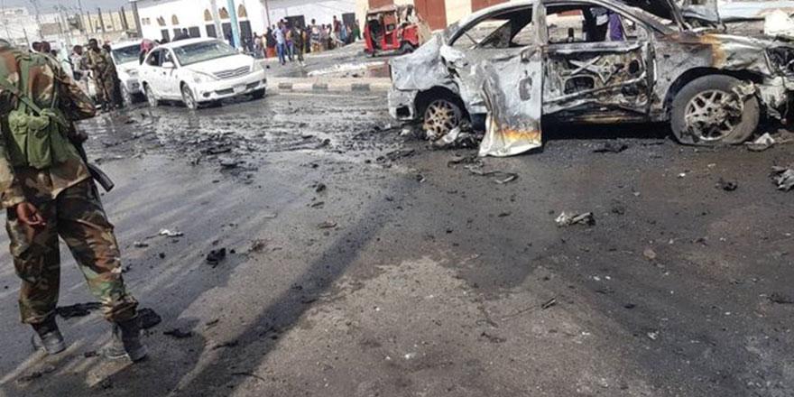 Mogadişu'da hükümet binalarının yakınında şiddetli patlama!