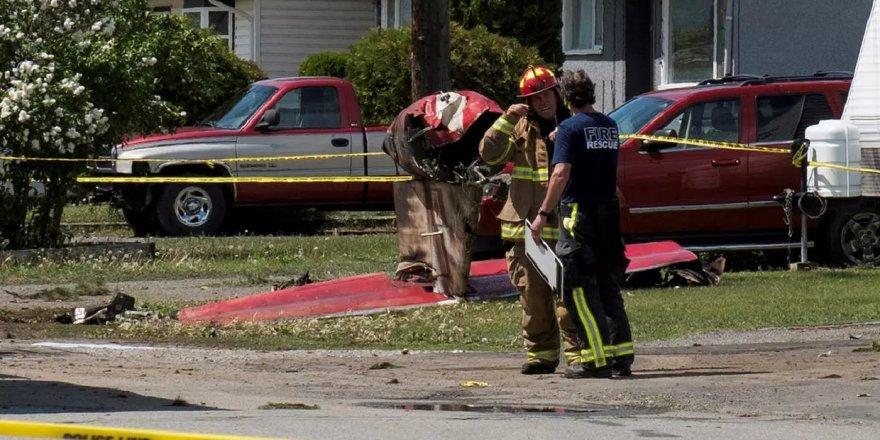 Moral uçuşu yapan Kanada uçağı düştü: 1 kişi öldü