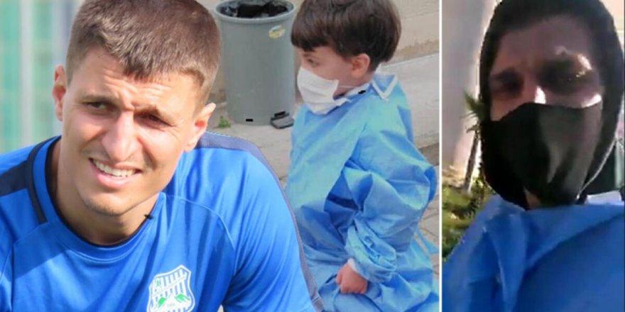 Oğlunu boğarak öldürdüğü iddia edilenfutbolcu, savunma yapmadı