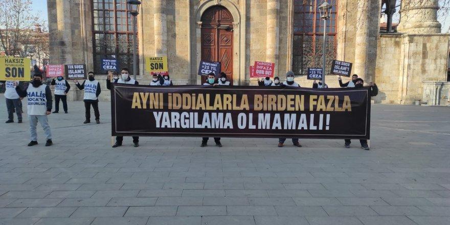 Özgürlük Yürüyüşü Konya'da devam ediyor