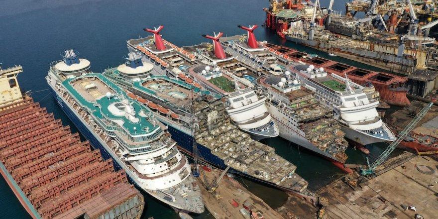 Pandemi, dev gemileri hurdaya çıkardı