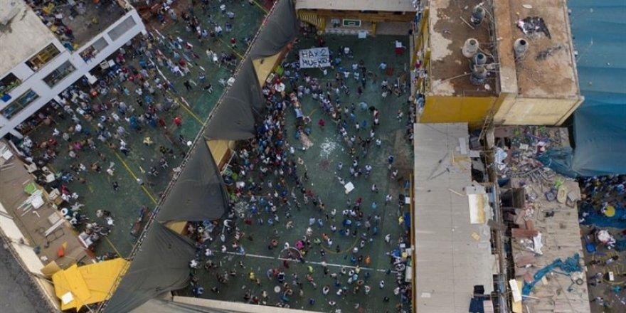 Peru'da Cezaevinde Covid-19 İsyanı: 9 mahkum öldü