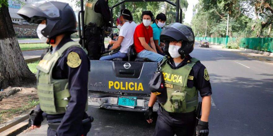 Peru'da Covid-19'a karşı sıra dışı önlem
