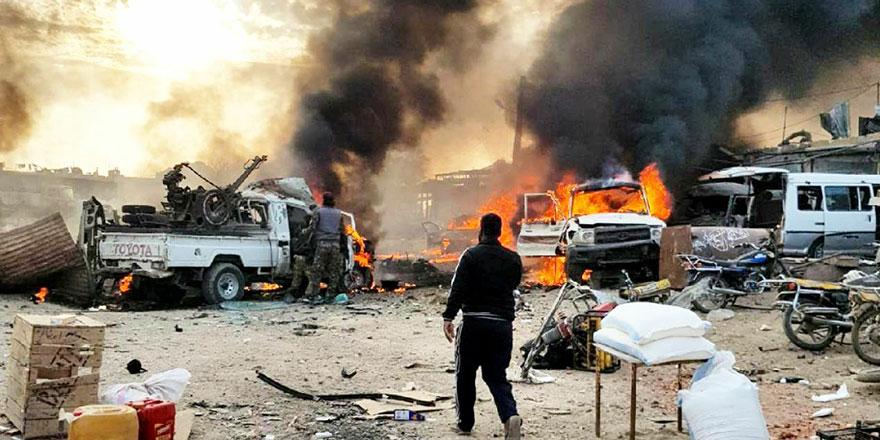 Rasulayn'da pazar yerine bombalı saldırı düzenlendi